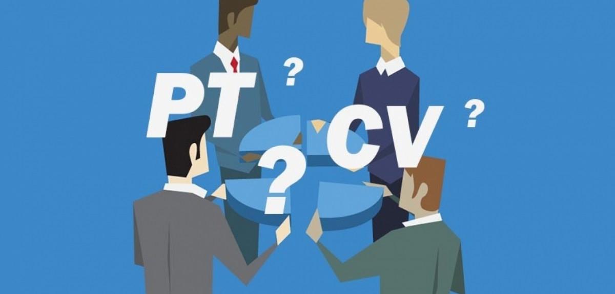 PT dan CV, serupa tapi tak sama.